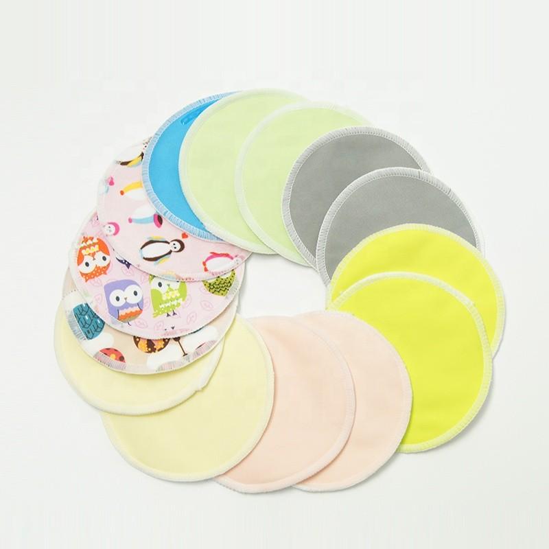 100% Leak-proof Soft & Super Absorbent Organic Bamboo Nursing Pads