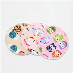 Washable Reusable Bamboo Nursing Pads Mom Reusable Breast Pads