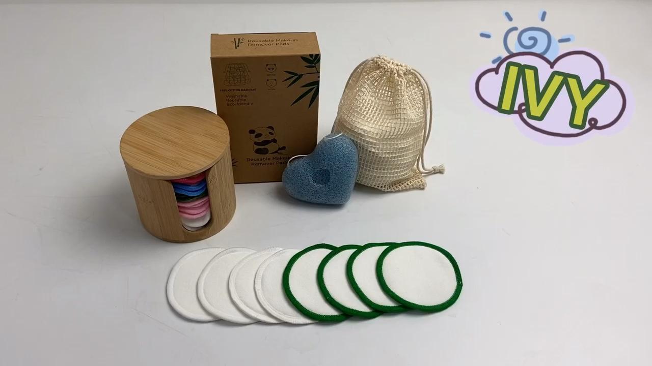 reusable makeup remover pads bamboo