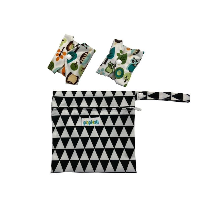 Reusable Customized Waterproof Portable Hanging Diaper Bags