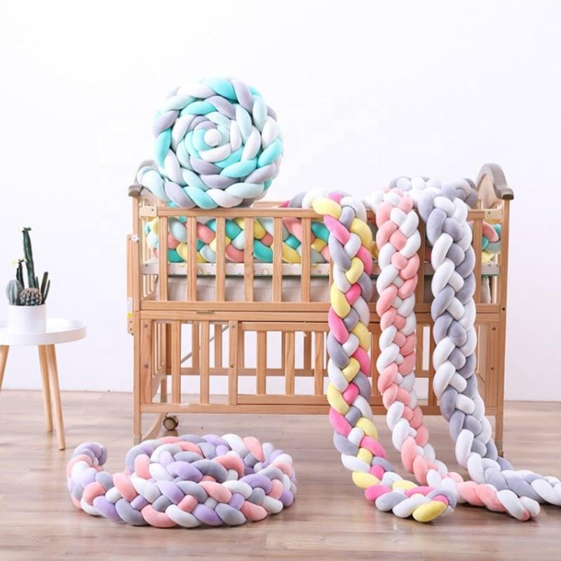 Parachoques respirable del pesebre del bebé de las almohadillas de cama del sueño del acurrucarse