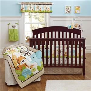 Wholesale Cartoon Design Lovely 100% Cotton 3D Baby Bedding Set For Children Bed
