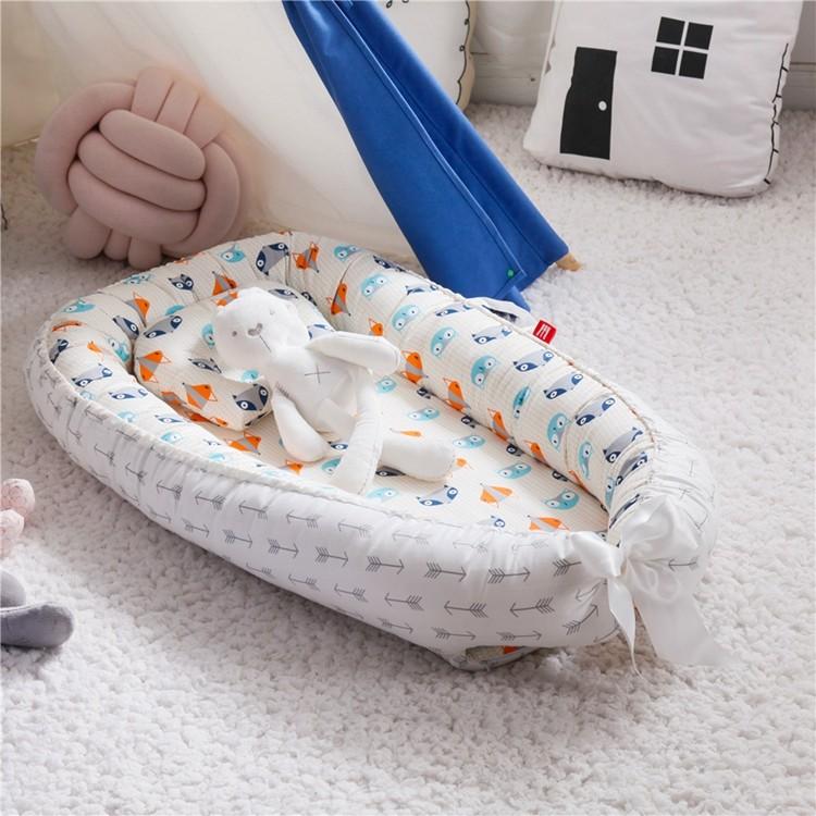 Seguridad Cómoda cama portátil para recién nacidos Cuna Nido para bebé