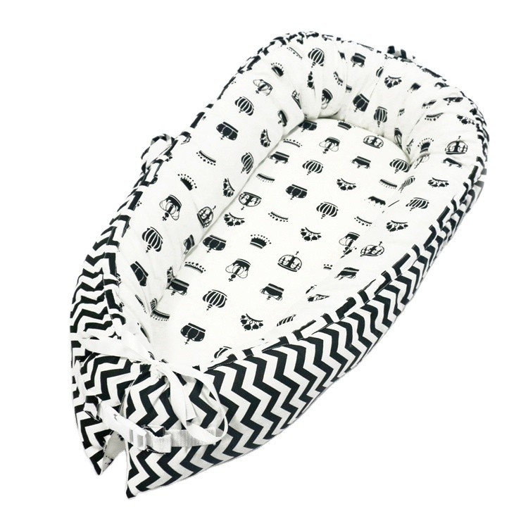 Newborn Lounger Portable Baby Bed Nest Organic For Toddler