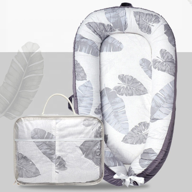 Breathable Safety Baby Lounger 0-12 Months Portable Baby Nest For Infant