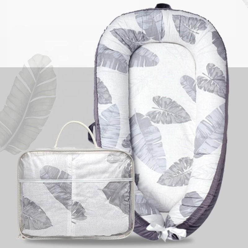 Tumbona de bebé de seguridad transpirable 0-12 meses nido de bebé portátil para bebé