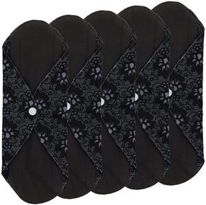 Reusable Cloth Menstrual Pads Reusable Bamboo Charcoal Sanitary Napkins