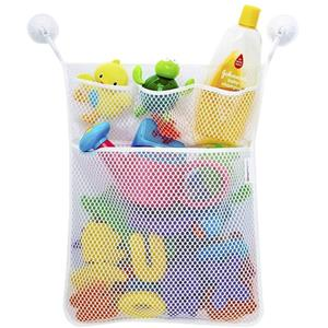 Baby Mesh Bath Toy Organizer Bathtub Toy Holder Toy Storage Bag