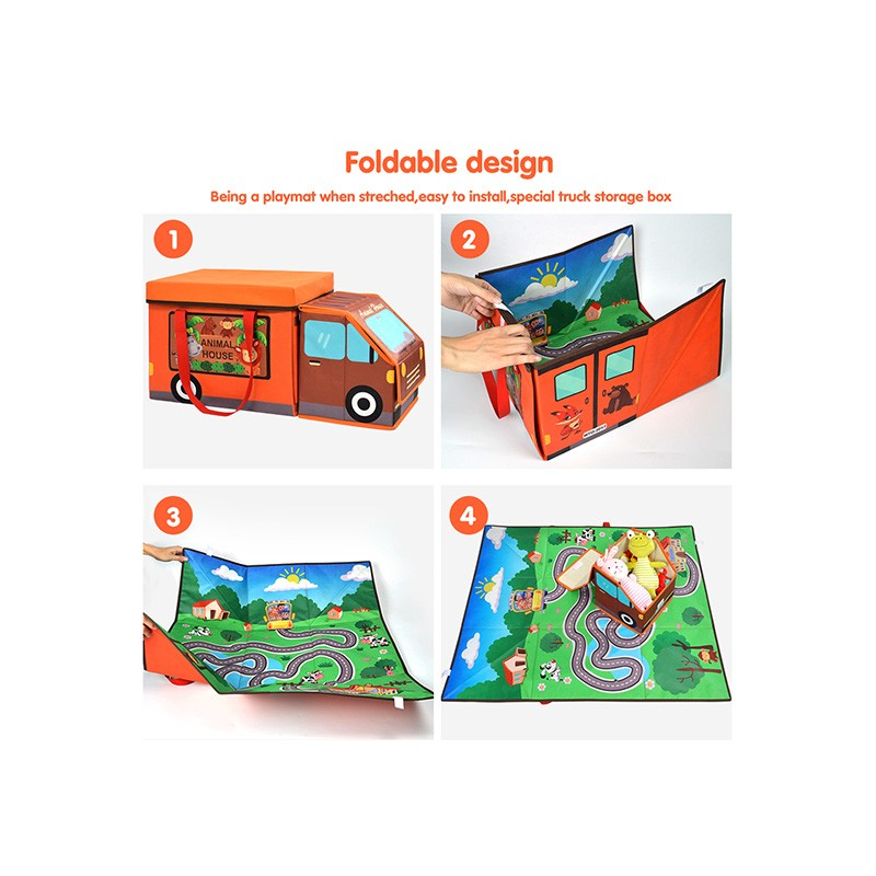 Portable Foldable Fabric Baby Play Mat Toy Storage Box Manufacturers, Portable Foldable Fabric Baby Play Mat Toy Storage Box Factory, Supply Portable Foldable Fabric Baby Play Mat Toy Storage Box