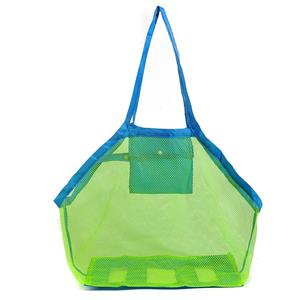 Storage Large Mesh Tote Bag Clothes Toys Carry All Sand Away Beach Bag 45 x 30 x 45 cm