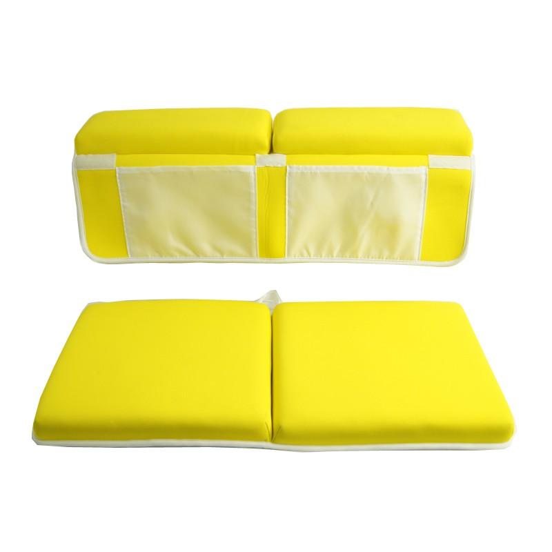 Schnelltrocknbares, waschbares Baby Bath Kneeler & Elbow Rest Mat Set