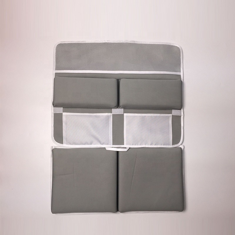 Rutschfeste abnehmbare dicke Ellbogenstütze Neopren-Badematte mit Taschen