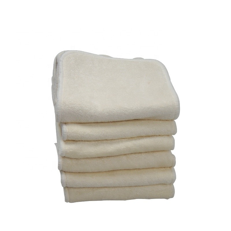 100% Bamboo Liner Inserts For Baby Reusable Diaper Natural Bamboo Material