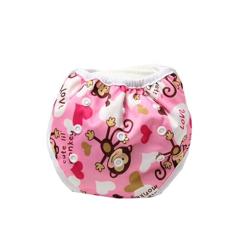 Reusable Baby Cloth Diaper Soft Washable Swim Diapers