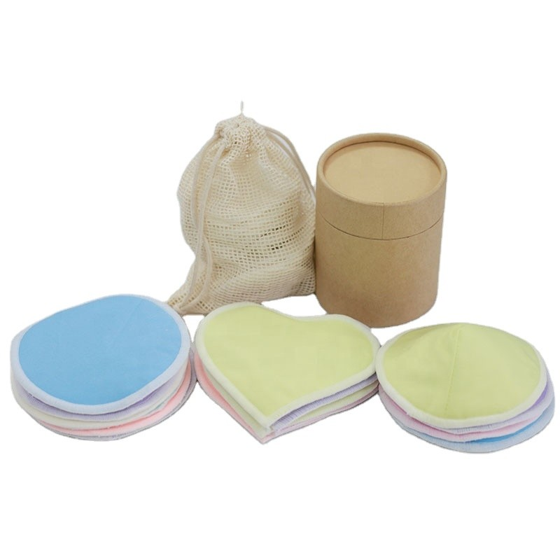 Señoras lavables de la forma redonda del algodón de la buena calidad que amamantan al pecho