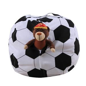 Animal Storage Bean Bag Chair Cover for Organizing Children Plush Toys