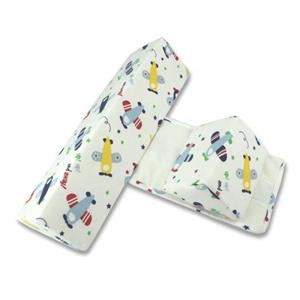 Removable Washable Cotton Cover Adjustable Side Support Baby Sleeping Wedge Pillow