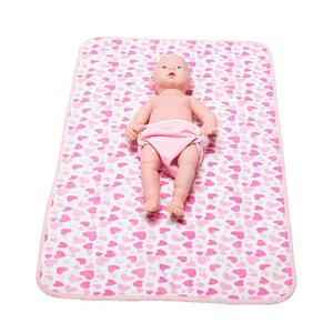 Baby Soft Waterproof Portable Travel Diapering Changer Changing Mat
