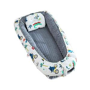 Cotton Cover Foam Mattress Baby Sleeping Nest Baby Travel Bed