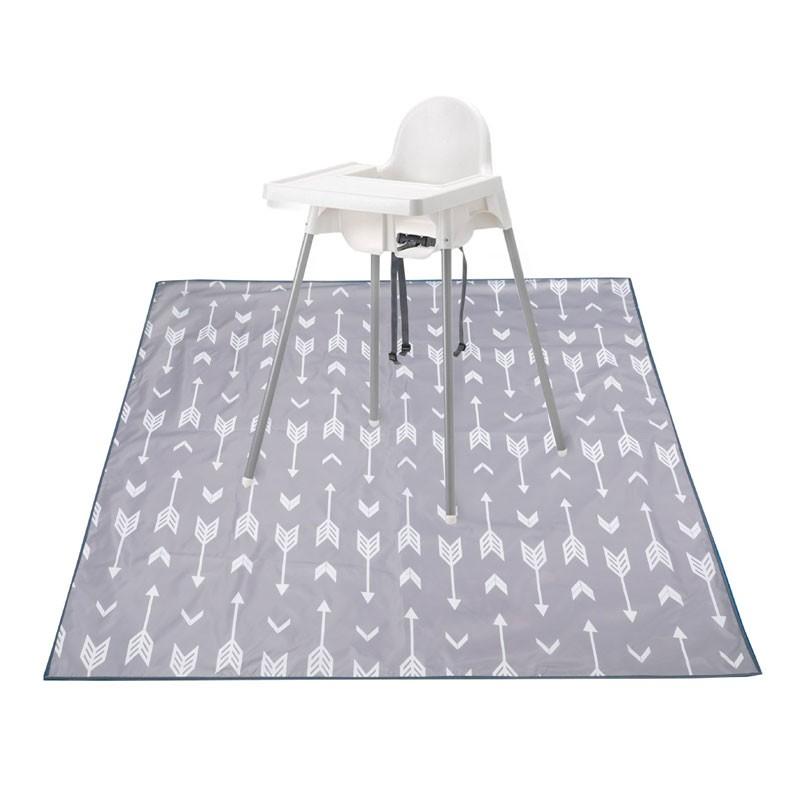 Waterproof Baby Floor Splat Mat For Under High Chair