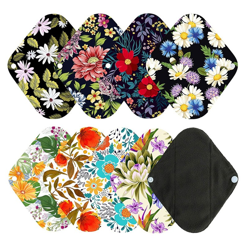 1pc Mini Wet Bag 6pcs 8 Inch Bamboo Charcoal Cloth Menstrual Pads Reusable Sanitary Pads Manufacturers, 1pc Mini Wet Bag 6pcs 8 Inch Bamboo Charcoal Cloth Menstrual Pads Reusable Sanitary Pads Factory, Supply 1pc Mini Wet Bag 6pcs 8 Inch Bamboo Charcoal Cloth Menstrual Pads Reusable Sanitary Pads