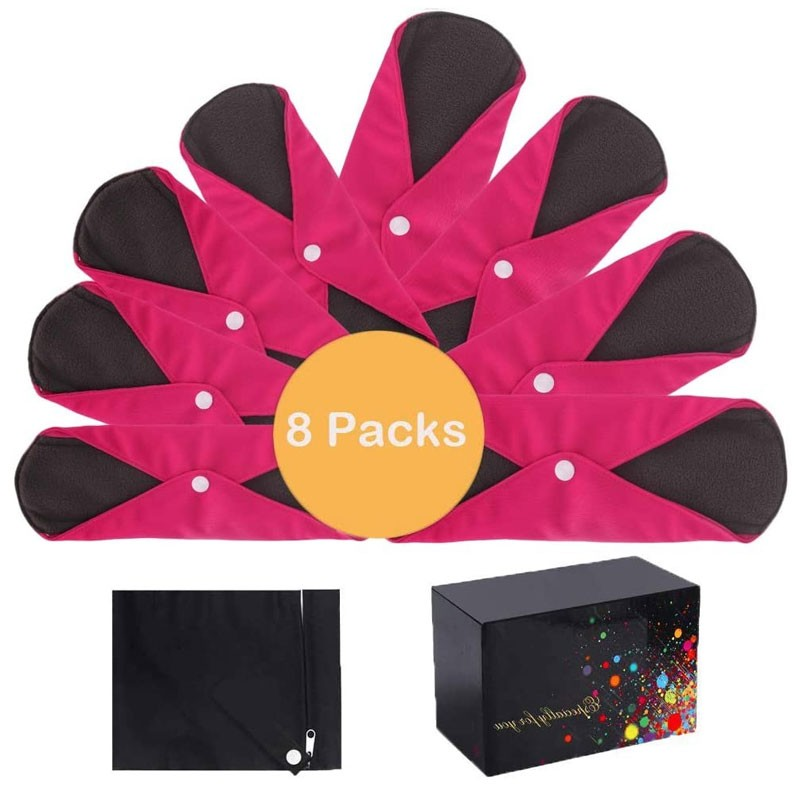 Washable Sanitary Towels Charcoal Absorbency Layer Overnight Long Panty Liners Rose Red Manufacturers, Washable Sanitary Towels Charcoal Absorbency Layer Overnight Long Panty Liners Rose Red Factory, Supply Washable Sanitary Towels Charcoal Absorbency Layer Overnight Long Panty Liners Rose Red