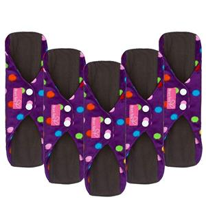 Sanitary Reusable Cloth Menstrual Pads by Heart Felt