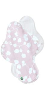Organic Reusable Cotton Menstrual Pads Sanitary Napkins Many Pattern