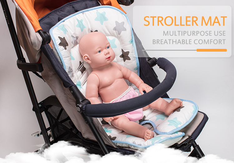 Multi Functional Breathable Baby Car Seat Stroller Liner Pads for Stroller & Car