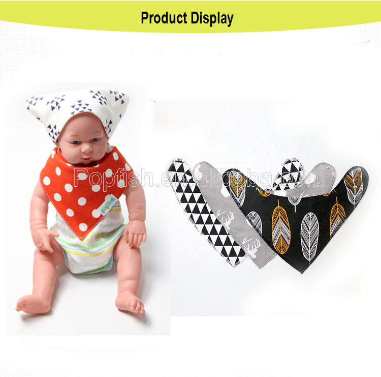 Baby Drool Bibs and Teething toys 100% Organic Cotton Super Absorbent and Soft