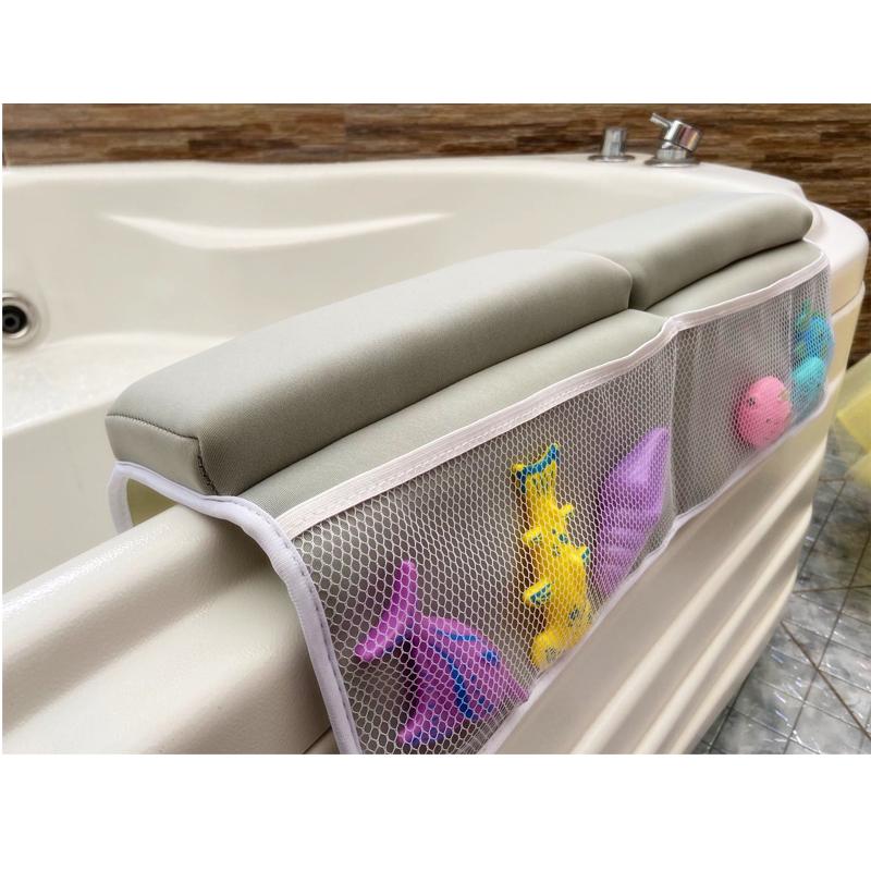 BSCI Custom Washable Bath Kneeler Mat With Elbow Rest Pad Set