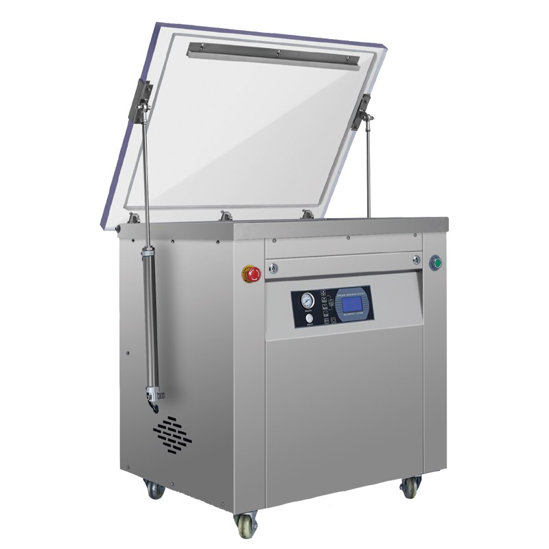 Double Chamber Vacuum Packaging Machine For Foof