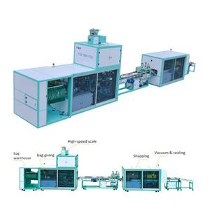 Fully Automatic Grain Vacuum Packing Machine