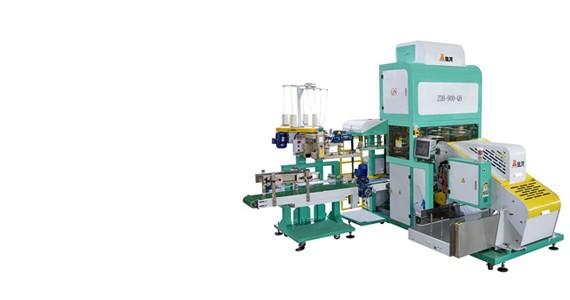 Máquina automática de ensacamento de grãos