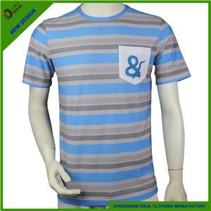 Polycotton Crew Neck Man T-shirt