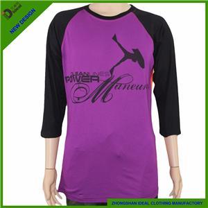 3 /4 Sleeve Cotton T Shirts
