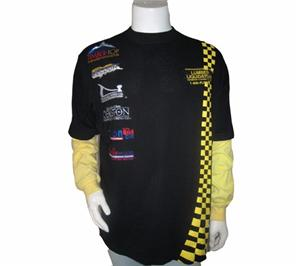 Cotton Lycra Printing Racing T-shirt