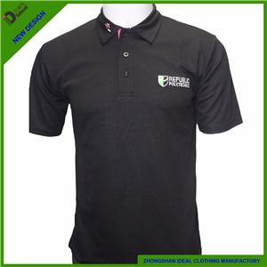 Cotton Pike Short Sleeve Men Polo Shirt
