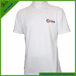 Cotton Pique Mens Polo Shirt