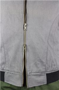Cotton Twill Full Zipper Mens Causal Jacket