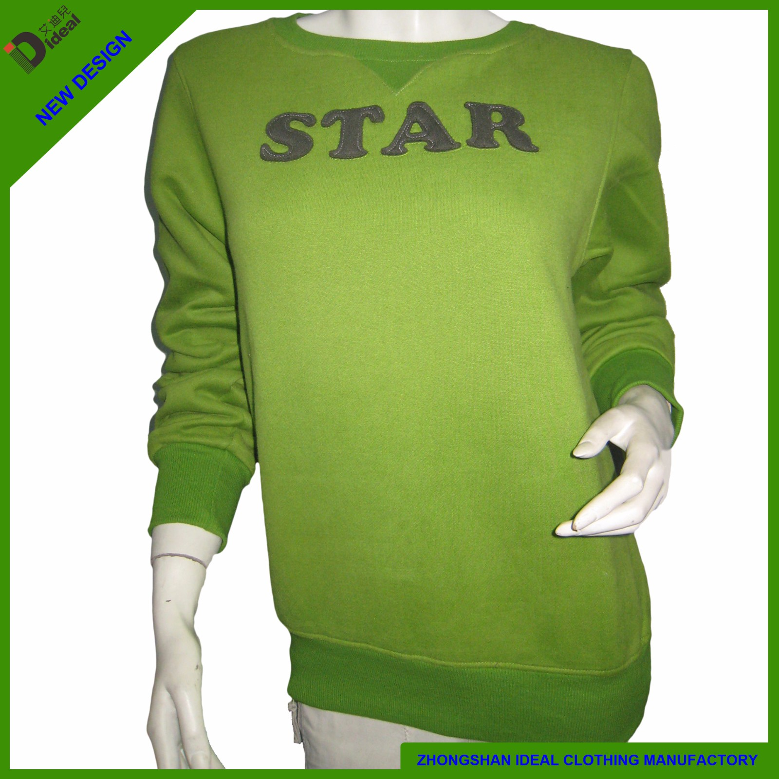 Cotton French Terry Womens Fashion Sweatshirt