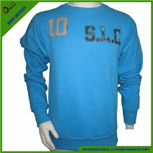 Heavy Cotton Fleece Fashion Men Sweatshirt