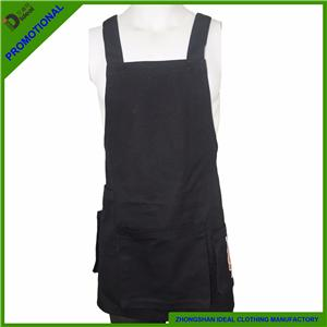 Polycotton Twill Adjustment Bib Apron