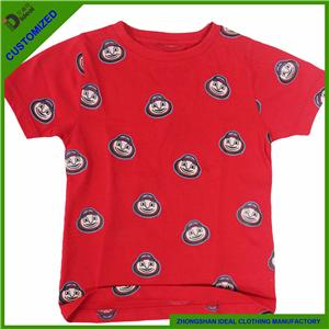 Cotton Short Sleeve Fashion Kids T-shirt