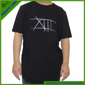 Kids Short Sleeve Causal Bamboo T-shirt