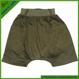 Cotton Lycar Kids Harem Shorts