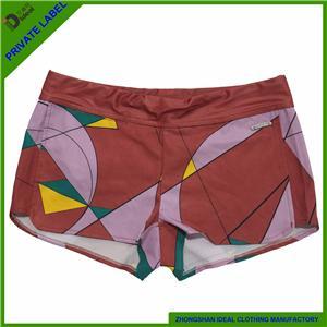 Nylon Lycar Quick Dry Womens Sublimation Board Shorts