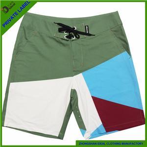Man Fashion Four Way Stretch Sublimation Board Shorts
