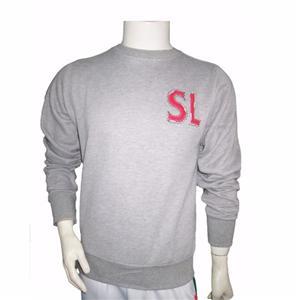 Embroiery Appilque Promotional Cotton Sweatshirt