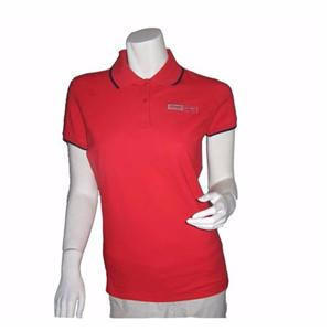 Cotton Pique Silk Screen Printing Polo Shirt